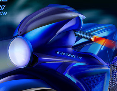 """Suzuki """"GENEX-R"""" electric"""