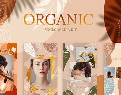 Organic Social Media Kit
