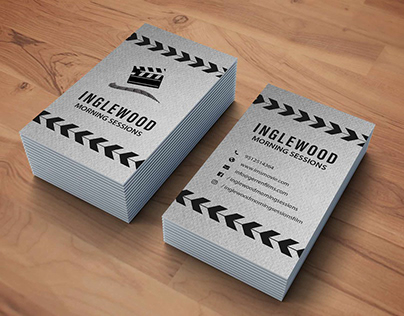 Flim (Inglewood M.S) invitation business card USA