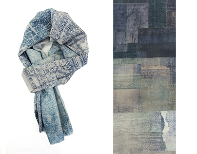 Collagraph Textiles