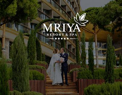 Дизайн Landing page Mriya Resort & SPA