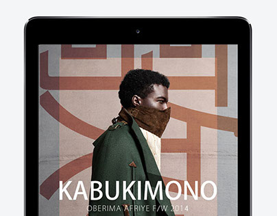 'Kabukimono' Interactive Lookbook