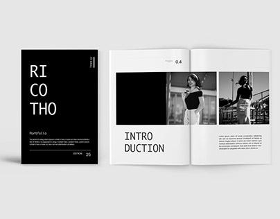 Ricoto – Lookbook Fashion Template