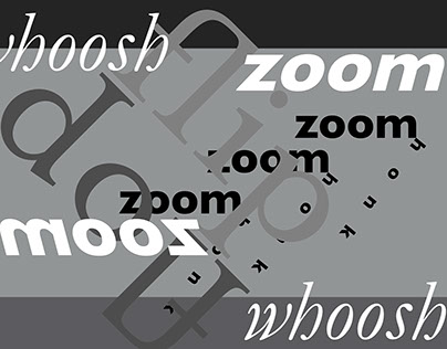 Zoom, a Sound Poem