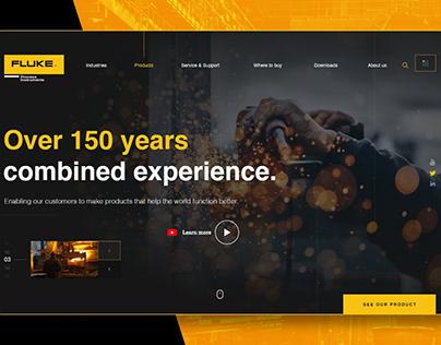 Fluke Website Redesign