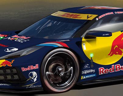 Corvette C8.R Red Bull Delahaye Racing