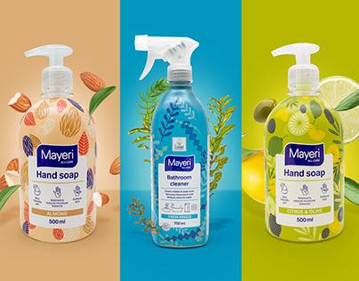 Rebranding and Packaging Design for Mayeri