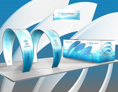 MusicMaster: Exhibit - Booth Graphics
