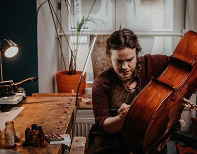 Craft of a violin maker