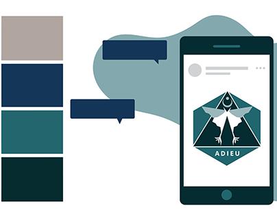ADIEU App Design Concept