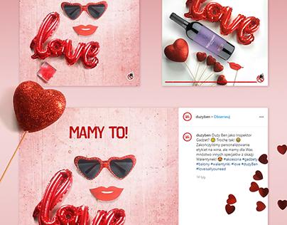 Valentine posts