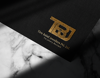 TB Jewellers Brand Identity Design