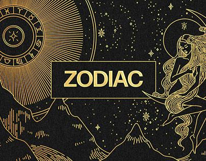 Zodiac Graphic Elements KitDesigned byPixelbuddha