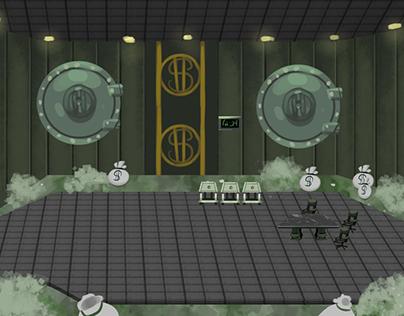 Cashbot Room Concept for Cog Invasion Online