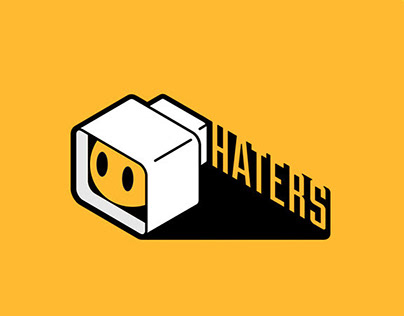 logo for web developers 'haters'