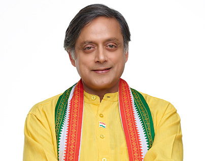 Campaign shoot for MP Dr. Shashi Tharoor.