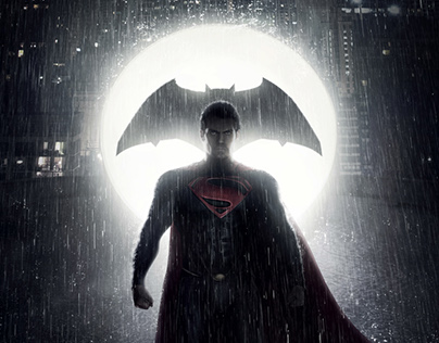Poster Provisional para BATMAN V SUPERMAN
