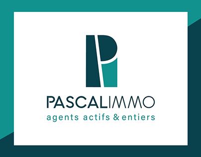 Pascal Immo - identité visuelle