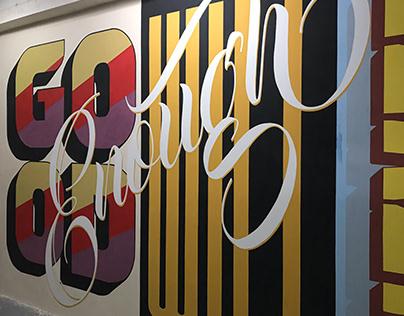 A Standard Job: A mural project