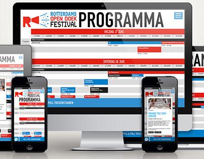 Rotterdams Opendoek Film Festival 2017 Online timetable