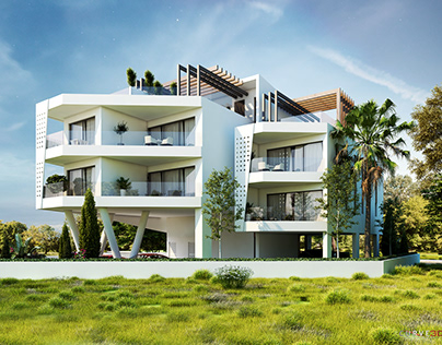 Apartments architectural design in Cyprus