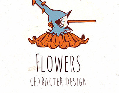 Flowers (character design)