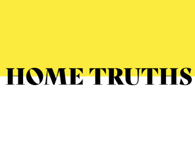 GDFS // HOME TRUTHS 2019 // LIVE BRIEF