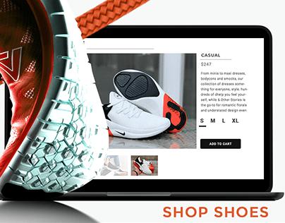 Shoe store concept