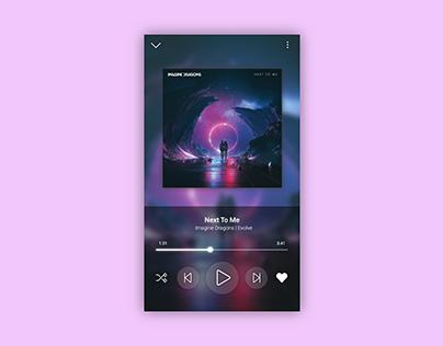 Daily UI #009 : Music Player
