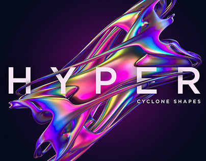 Hyper: Abstract Cyclone Shapes