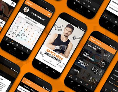 Spokey Homefitting - App Design