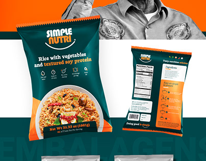 Simple Nutri - Packaging
