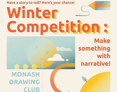 MDC Winter Art Competition Promo