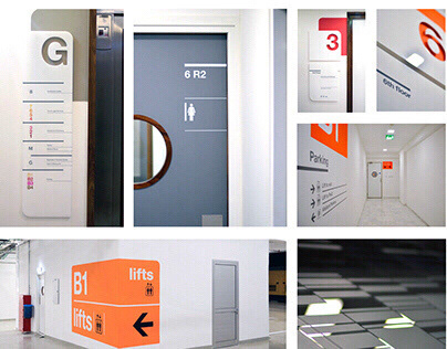 Signage & Wayfinding Design of PwC (Cyprus)