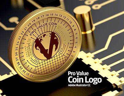 Pro Value Coin Logo