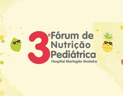 3º Fórum de Nutrição