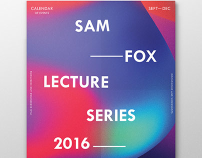 Lecture Series Calendar