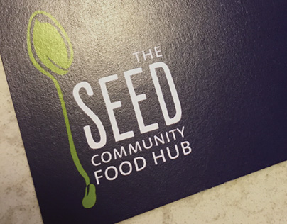 The Seed - logo and postcard design