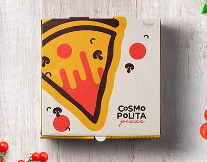 Cosmopolita Pizza Branding