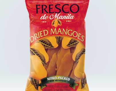 Premium Philippine Dried Mango Packaging
