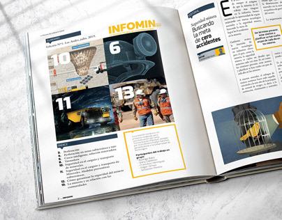Maqueta Revista Minera Infomin
