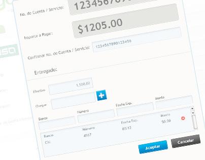 ePago UI