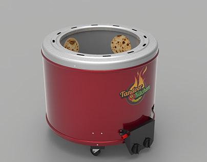 Gas Tandoor + BBQ Grill
