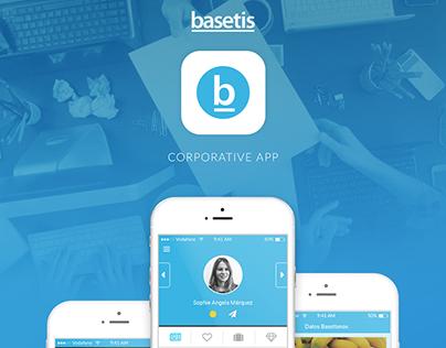 Basetis Corporate Application