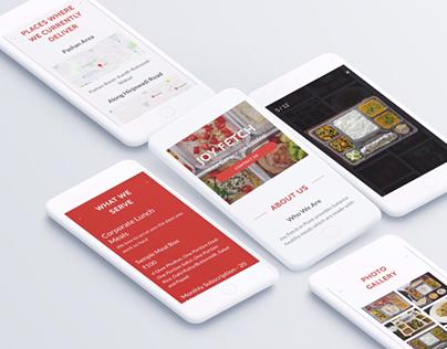Joyfetch - Food Delivery Website
