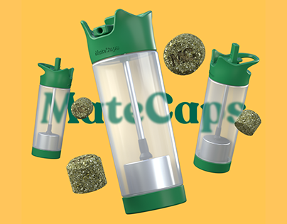 MateCaps - A 100% compostable energy boost