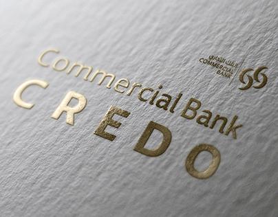 CB Credo, Branding and UI/UX - Commercial Bank, Qatar