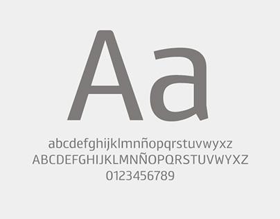 SEAT sans typeface