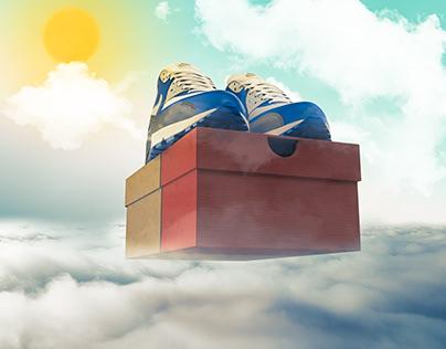 Nike Air Max 90's - Heavenly Sent