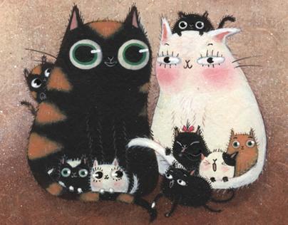 Le chat de la mère Michel, EDITIONS MOUK